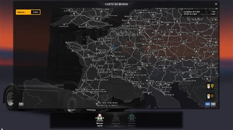 map collectif france  compatible  ets mods euro truck simulator  mods