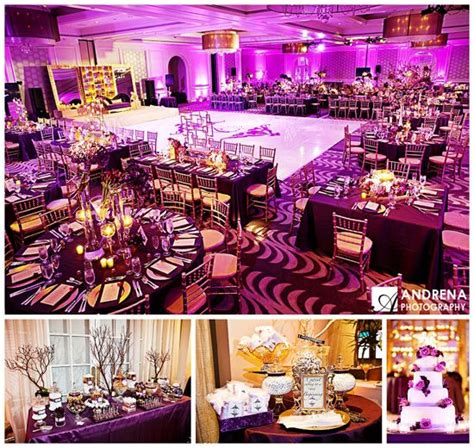 best 25 purple gold weddings ideas on