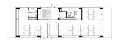 Office Block Floor Plans | umwelt bases boxy office block in southern chile on le