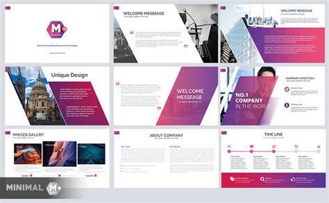 Minimal Free Business Powerpoint Template2 Just Free Slides Corporate Powerpoint Templates Free