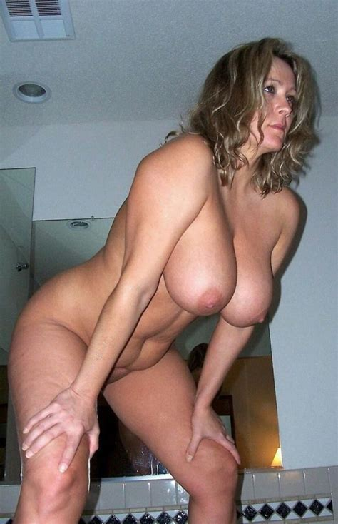 Dirty Blonde Milf Bending Over