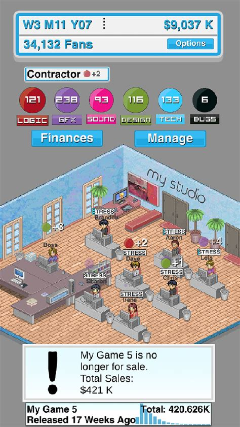 game dev tycoon mod tool game studio tycoon by michael sherwin touch arcade