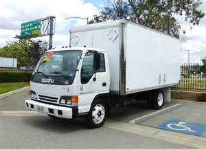 Isuzu Box Truck Mpg 2000 Isuzu 16 Box Truck
