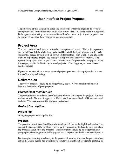 best photos of idea proposal template business idea