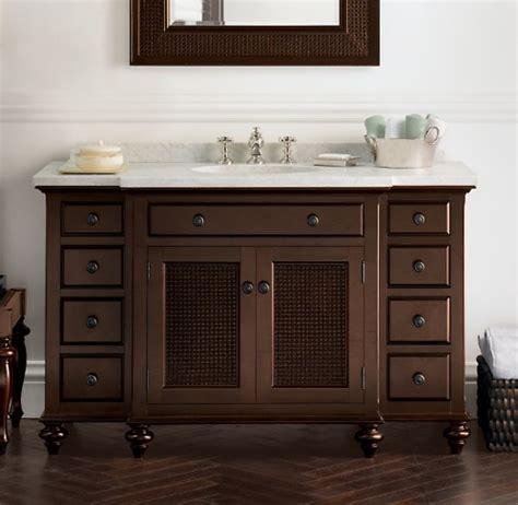British cane traditional bathroom vanities