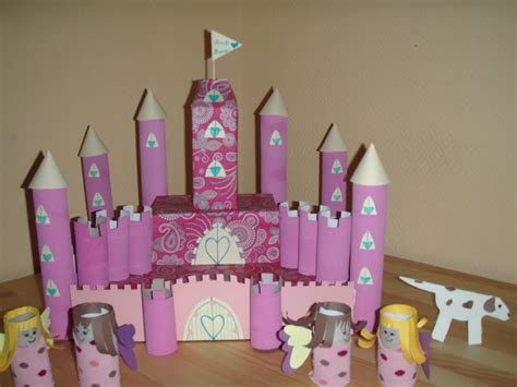 Toilet Paper Roll Castle Craft - toilett paper roll craft diy