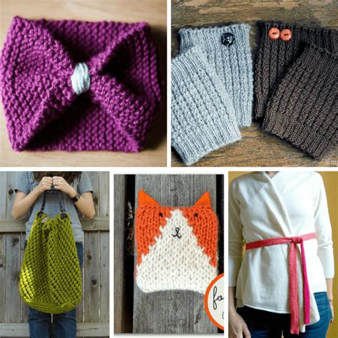 easy knitting crafts a roundup of 20 easy knitting projects for beginners