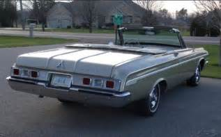 1964 Dodge Polara Convertible For Sale 1964 Dodge Polara Automatic Convertible For Sale In