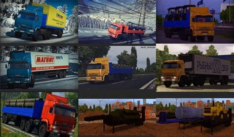 ets2 game modding net russian trailer park 1 21 1 22 ets2 mods