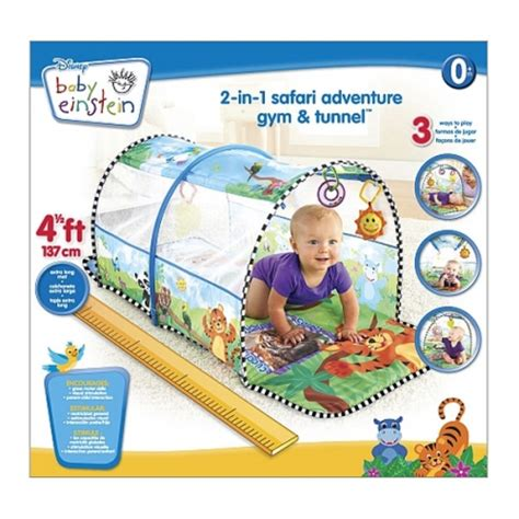 Fisher Price Play Mat Tunnel by Baby Einstein 2 In 1 Safari Adventure And Tunnel
