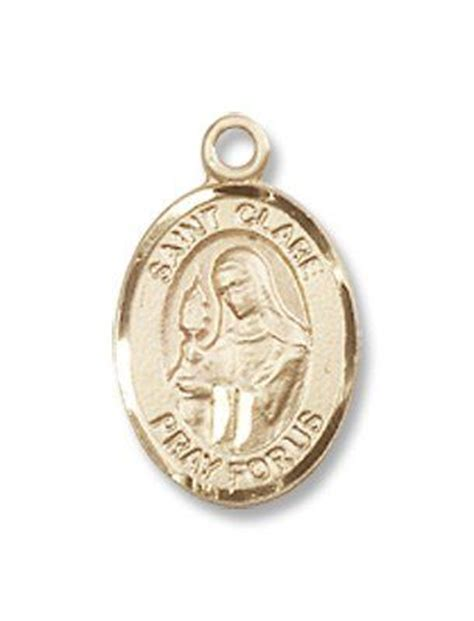 Cr Qq180 Medal Discount Shipping - small childrens jewelry or boys 14kt gold st clare