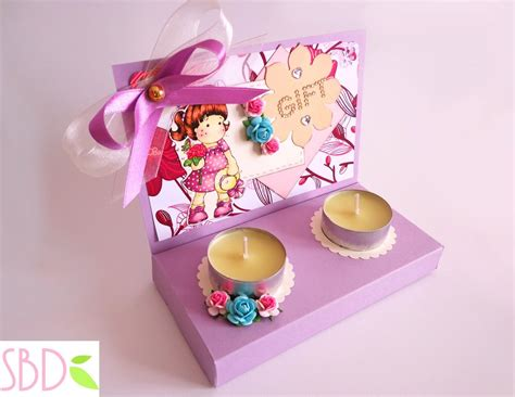candele regalo scatola regalo porta candele candle gift box my crafts