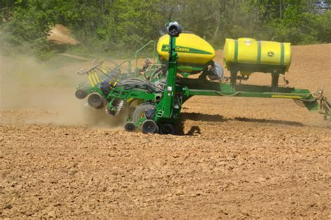 Planting Soybeans With Corn Planter by Planting Corn