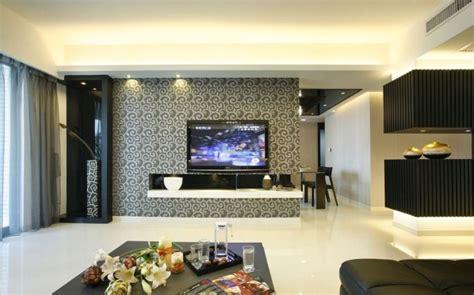 wallpaper for lcd wall tv wall wallpaper rendering interior design