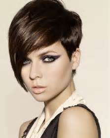 Pictures of a pixie haircut with long bangs