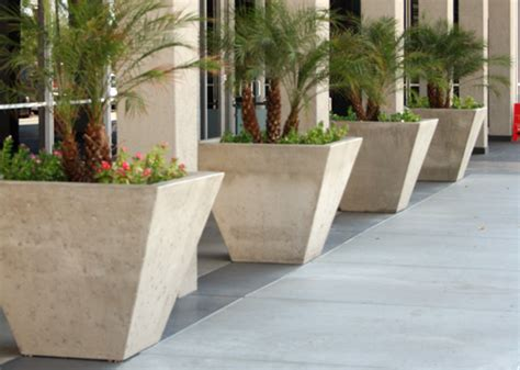 Commercial Planter by Commercial Building Hardening Building Protective