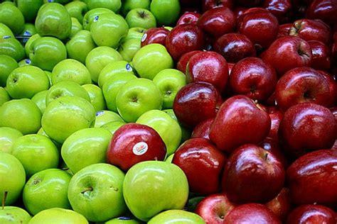 imagenes verdes y rojas dieta de la manzana