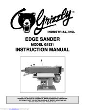 Grizzly G1531 Manuals