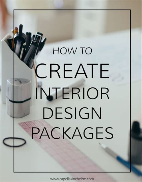create interior design packages  images