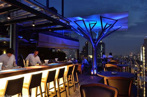 roof top bars above eleven rooftop bar restaurant bangkok asia