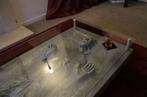 Carbonite Coffee Table Han In Carbonite Coffee Table Gadgetsin