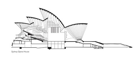 sydney opera house section public sydney drawing the city sydney living museums
