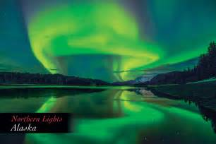 alaska northern lights northern lights alaska postcard pc161mark kelley