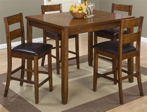 warm brown formal dining room sets for 8 with glass door plantation warm brown 5 piece counter height dining room