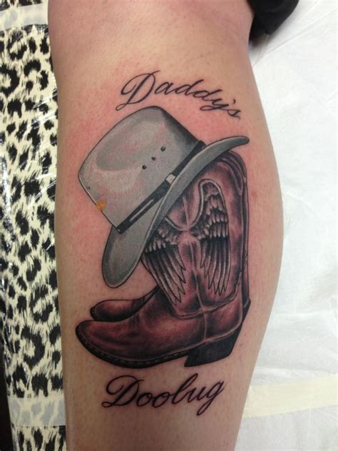 cowgirl boots tattoo designs 1000 ideas about cowboy tattoos on tattoos