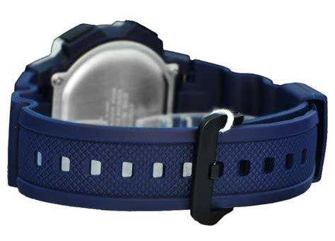Jam Tangan Pria Casio Digital Ae 1000wh 2av Original jual casio tali ressin jam tangan digital biru silver ae 1000w 2avd harga kualitas