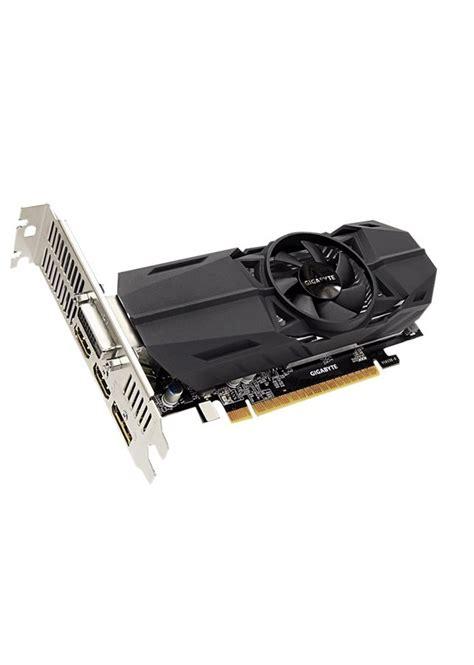 Gigabyte Geforce Gtx 1050 Ti D5 4gb Gv N105td5 4gd gigabyte giby4gb d5 gtx 1050 ti oc lp 2x hdmi disp gv