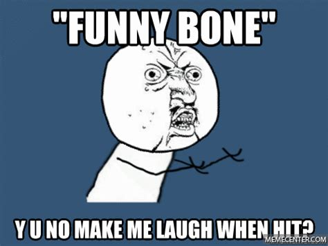 Bones Meme - why you get zapped when you hit your elbow the hilarious