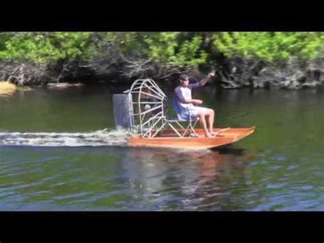 fan boat hp mini airboat youtube