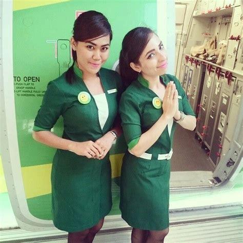 citilink uniform citilink indonesia stewardess crewfie cabin attendant
