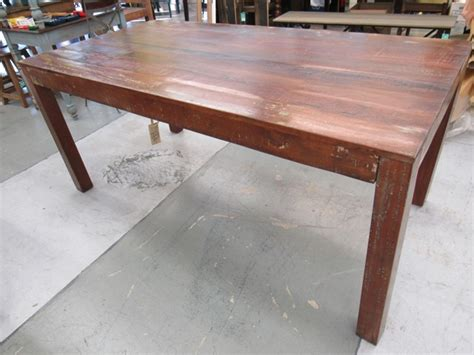 Dining Table Houston Reclaimed Wood Dining Table Nadeau Houston