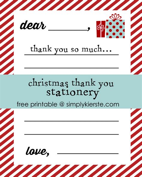 Thank You Letter Stationery 9 best images of printable thank you stationery