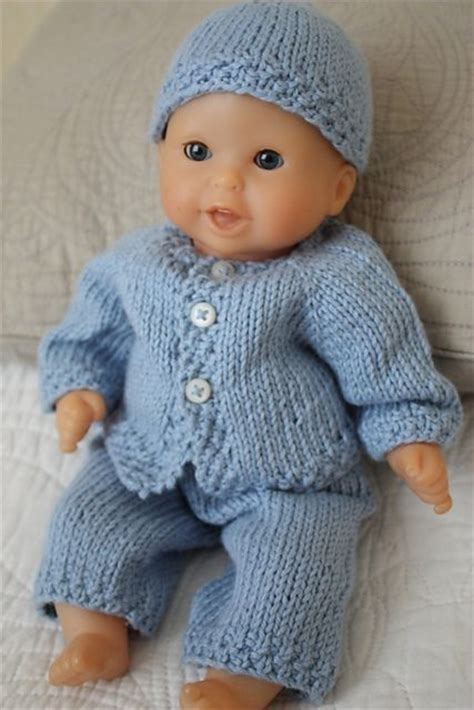 Galerry home crochet baby dolls clothes knitting patterns