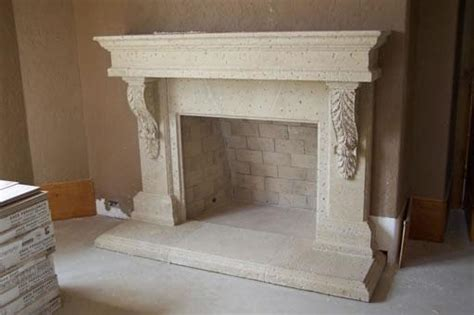 cast concrete fireplace c b i d home decor and design fireplace design