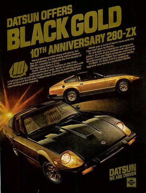 Ad Blackgold datsun 280zx 1980 cartype