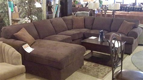 sectional sofa with oversized ottoman best contemporary