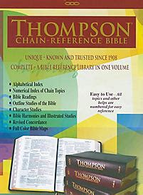 Thompson Chain Reference Bible Kjv thompson chain reference bible kjv large print black