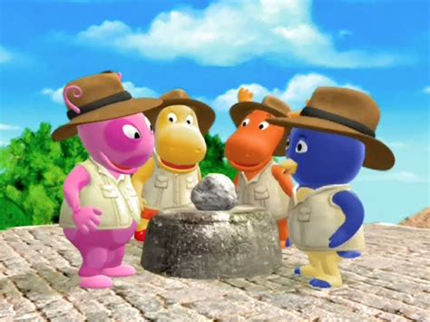 Backyardigans Flying Rock Image The Quest For The Flying Rock Cast Jpg The