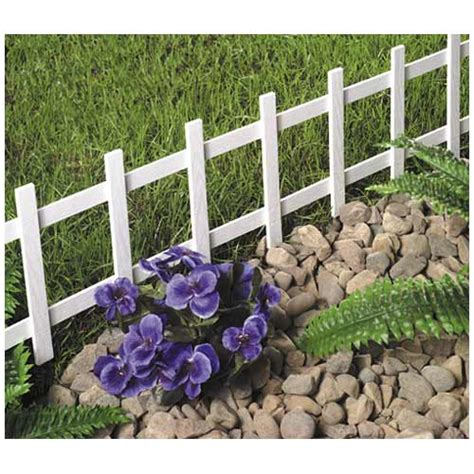 Landscape Edging Ace Master 13 1 2in X 33in White Cape Cod Fence 38532