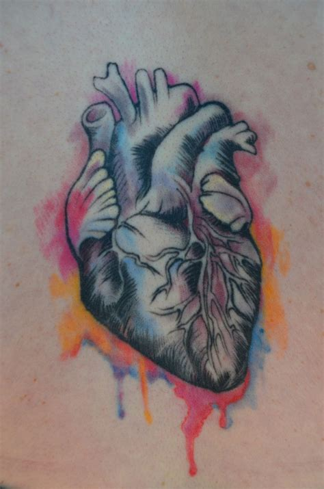 watercolor heart tattoo 25 best ideas about watercolor tattoos on