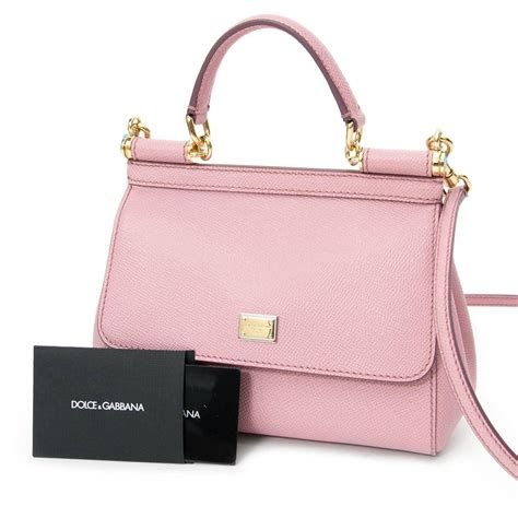 Dolce And Gabbana Miss Pocket Tote by Dolce And Gabbana Pastel Pink Quot Miss Sicily Quot Tote At 1stdibs