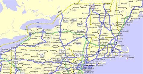 maps northeastern united states map