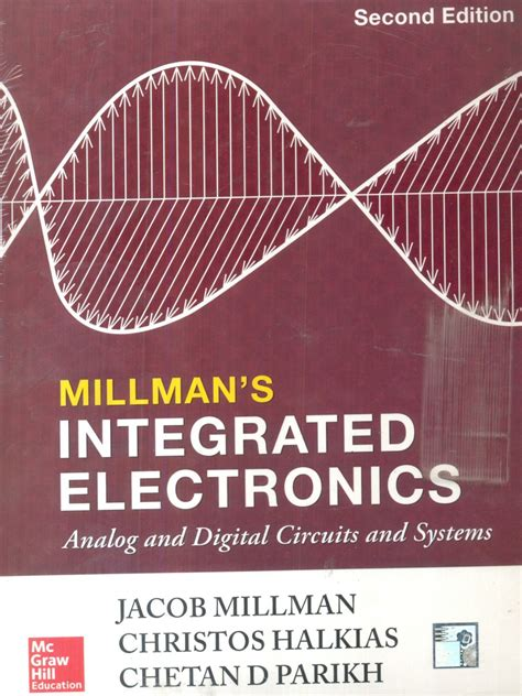 analog circuit integrated electronics millman and halkias free integrated electronics analog and digital circuit systems 2 edition buy integrated
