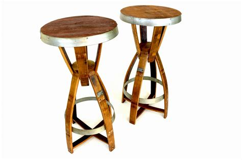 wine barrel pub tables hungarian workshop