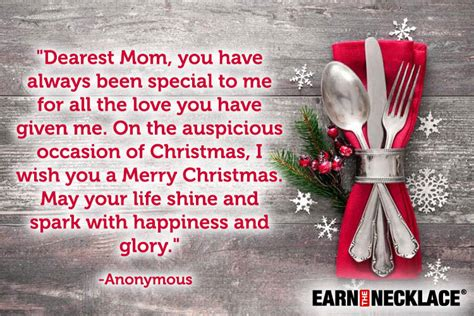 messages    mother  law  merry christmas earn  necklace