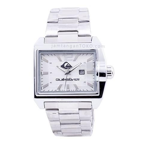 harga sarap jam tangan quiksilver foundation silver putih
